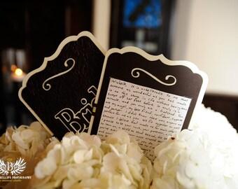 Custom Vow Cards