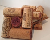 Upcycled Wine Cork Coasters - square-set of 4