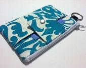 Large - Zipper Pouch - iPhone Case - Wallet - Business Card Holder - Smart Phone Case
