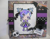Gothic Cute Alternative Card