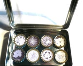 Kiku Flower Magnet Tin Set