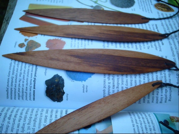 Wood Bookmarks or ornaments