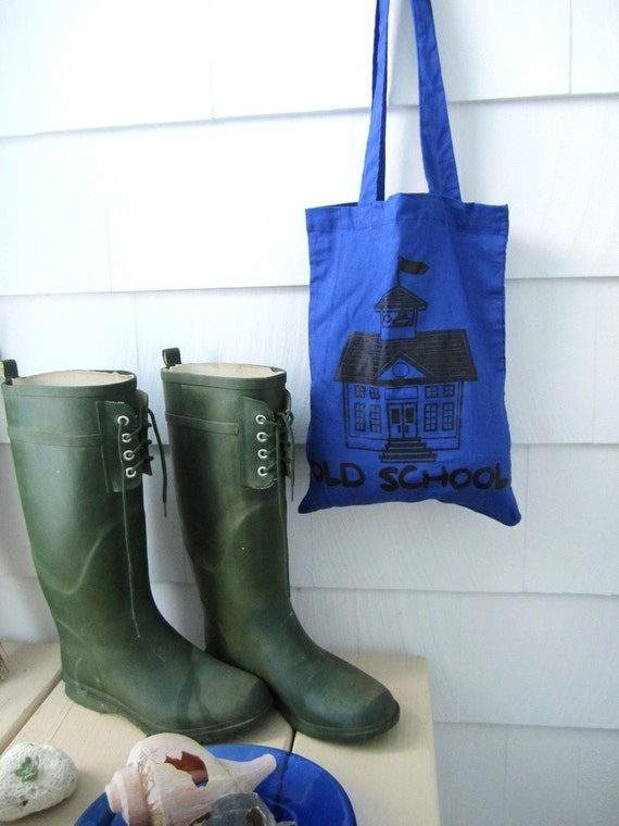 Old School Tote from Michelebuttons