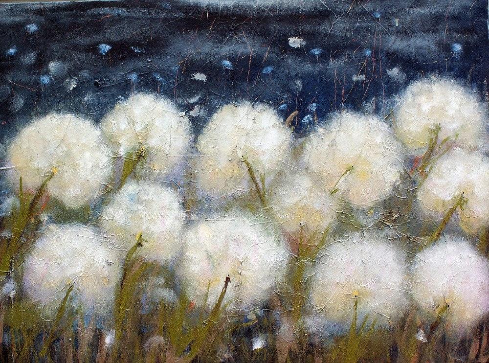 11 11 Make A Wish Dandelion Art Print Sweet Dreams Print