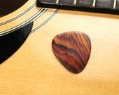 Cocobolo guitar pick hard wood handmade-FREE SHIPPING