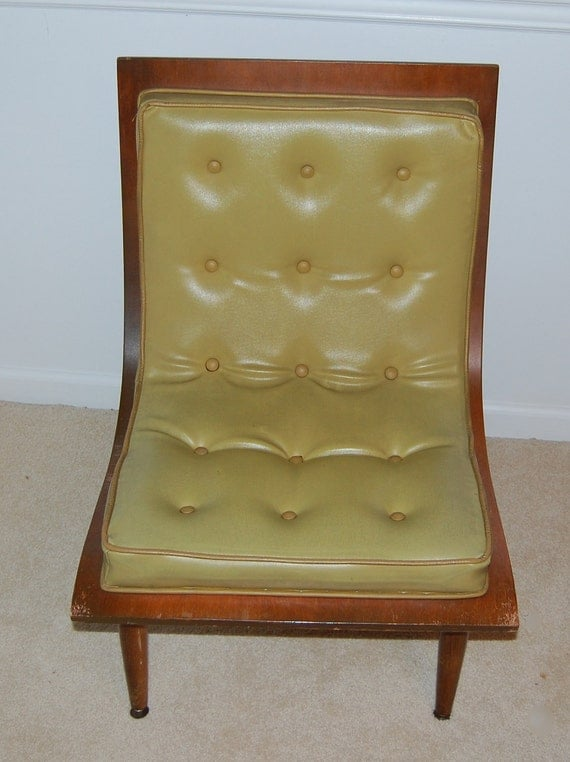 1958 Carter Brothers Scoop Chair Mid Century