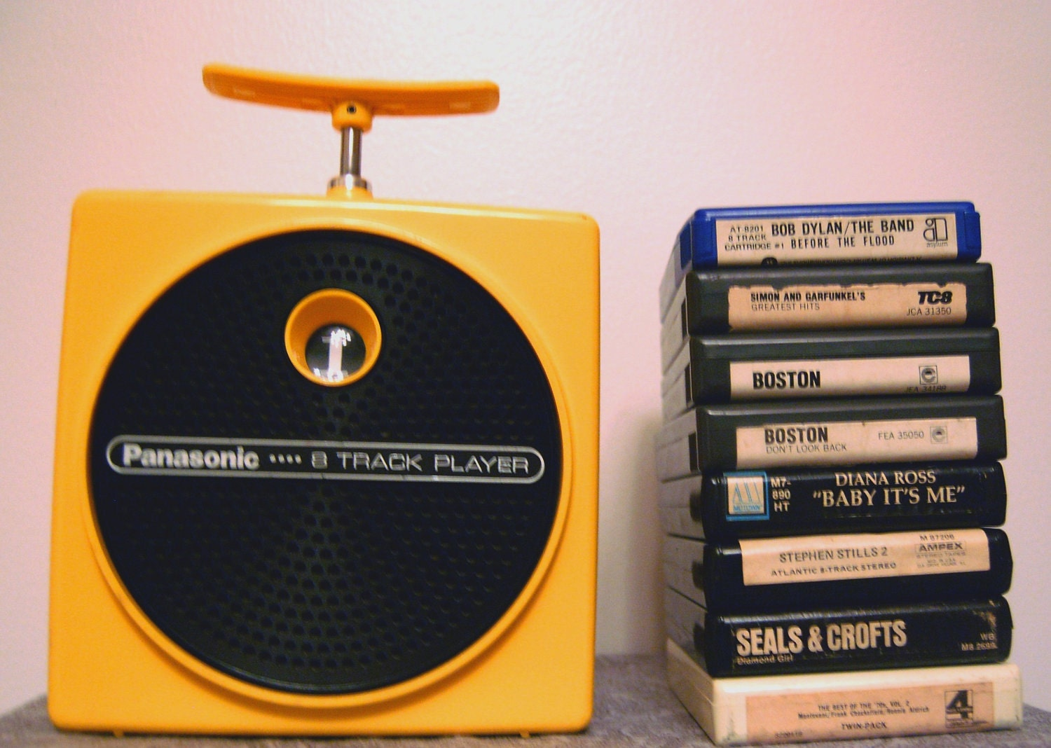 Panasonic Tnt 8 Track Player And Tapes By Retromodstore On