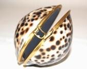 Vintage Tiger Shell Purse