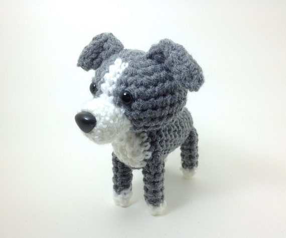 Italian English Animsld: Italian Greyhound Knit Amigurumi Dog Crochet Dog Stuffed