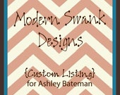 Custom Listing- Ashley Bateman
