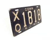 1941 license plate