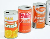 Orange Pop Cans