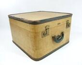 Vintage Lincoln Suitcase