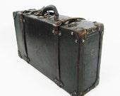 Antique Train Suitcase Trunk