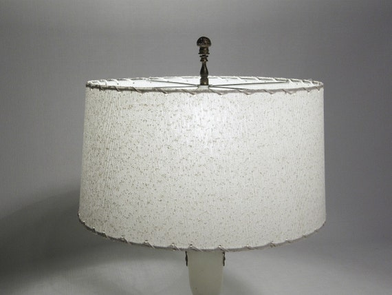 1960s White Lamp Shade NEW Old Stock