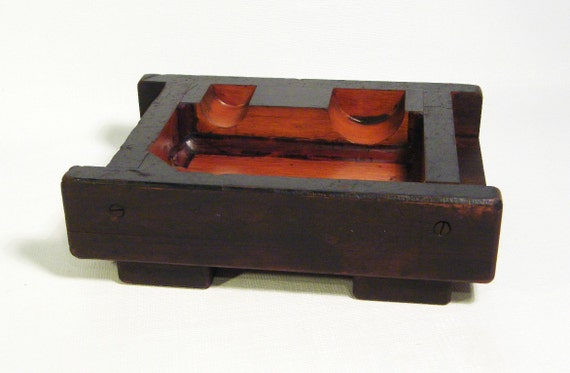 Antique wooden foundry mold