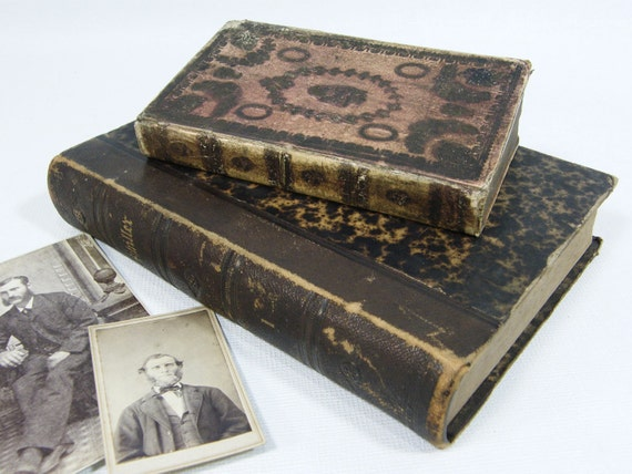 Antique German Books 1835 and 1871