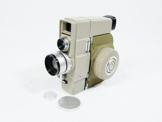 RESERVED for September Vintage 8mm Movie Camera Beautiful Condition Sekonic Dualmatic Zoom