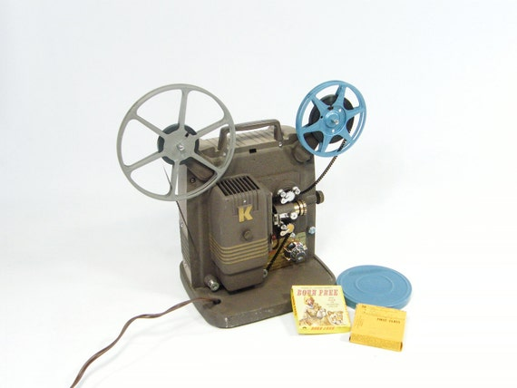 Vintage Film Projector 1950s Keystone 8mm Home Movies