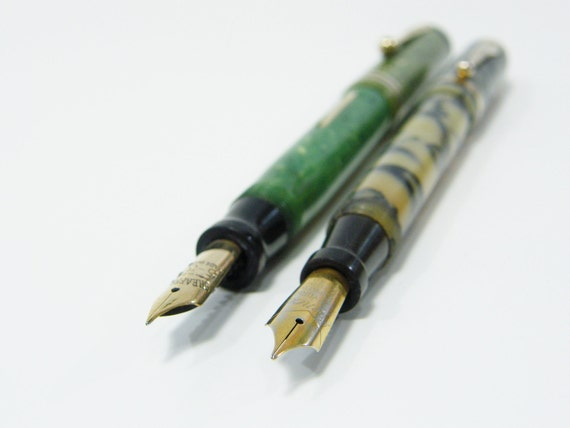 Vintage Fountain Pens Sheaffer and Everlast