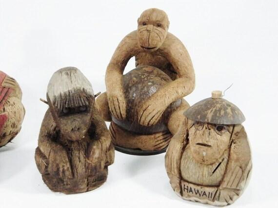 Coconut Tiki Monkey Collection