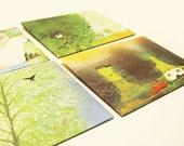 handmade summer days envelopes