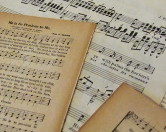 sheet music and song book pages