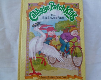Cabbage Patch Book The Bicycle Race 1984