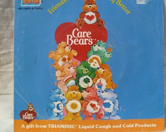 "Care Bear Triaminic Record ""Friends Make Everything Better"""