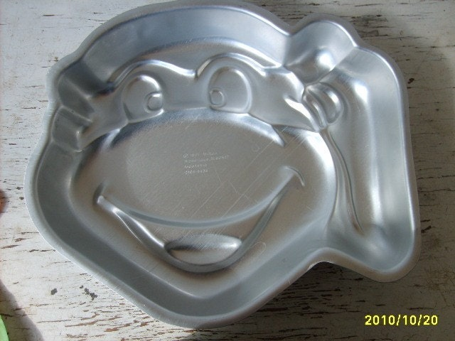 Vintage Ninja Turtle Wilton Cake Pan