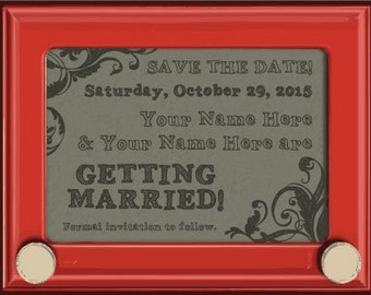 Sketcha Funny Save the Date Magnet or Card