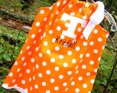 Tennessee Vols Pillowcase Dress w/ Power T applique' and Monogrammed Name