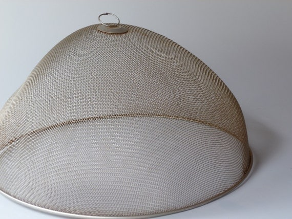 Vintage Wire Shoo Fly Screen Picnic Food Cover