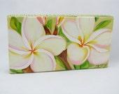 Plumeria / Original Painting / White Hawaiian Plumeria