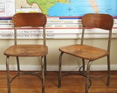 Adult Sized School House Chair