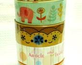 5 roll 15mm Masking Kawaii Cute Deco Tape Set DT-1104