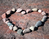 Superior Love 2 - Fine Art Photographic Print - Lake Superior - Duluth Minnesota - Rock Heart - POE Member