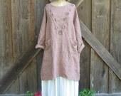 linen tunic/dress