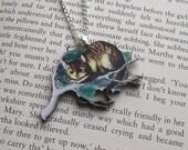 RESERVED listing for Ingrid :Alice in Wonderland necklace