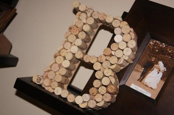 Wine Cork Decor Letters  ON SALE NOW
