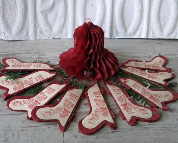 paper Honeycomb Christmas Bells
