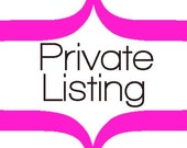 Private Listing for LilyPad'sMommy