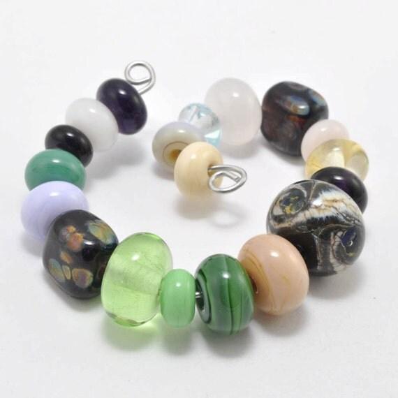 Spacer Mixers : Glass Lampwork Beads