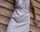 Sunday Tea, Polk-a-dot Dress (Custom)