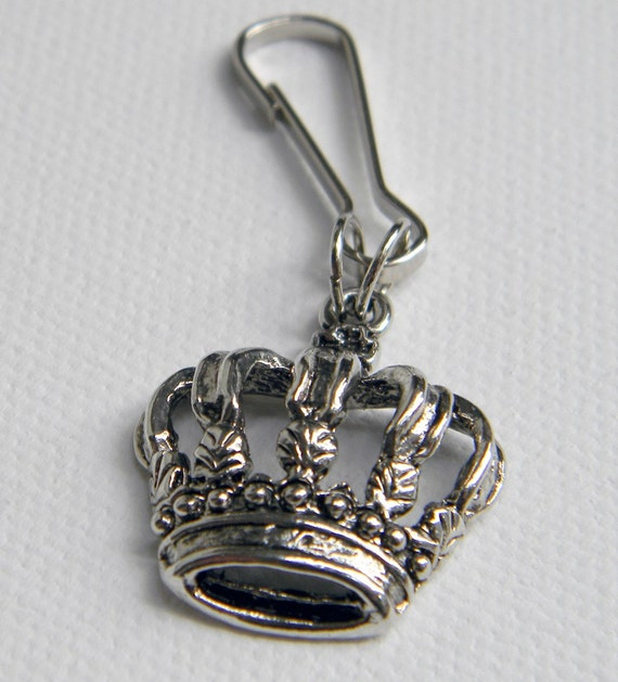 Crown Dog Collar Charm