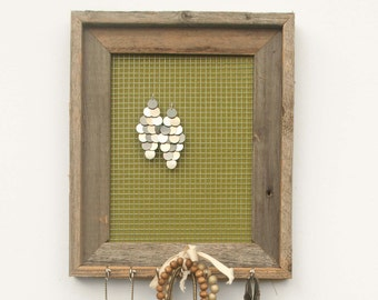 Olive Duck Jewelry Holder - Olive Green - 8 x 10