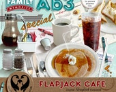 Flapjack Cafe Digital Scrapbook Elements, PU CU S4H S4O