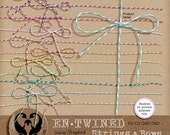 En-Twined: Strings & Bows, Digital Baker's Twine, PU CU S4H S4O