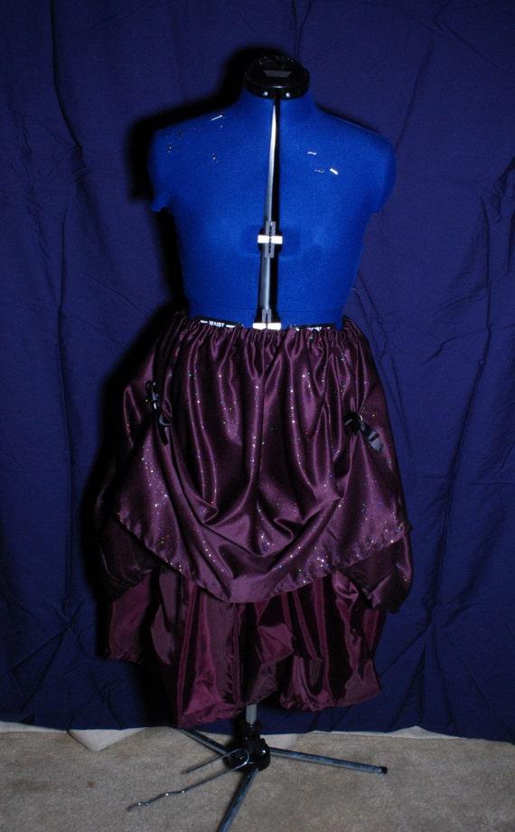 Purple  Steampunk Starlight Skirt.