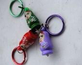 Matryoshka Nesting Doll Charm KEYRING Key Chain Key Ring